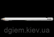 Карандаш графитовый HB с ластиком белый L2U Buromax