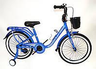 """Детский велосипед Casper 20"""" синий"""