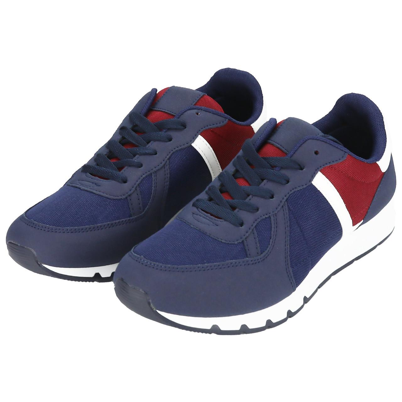 Кросівки чоловічі сині з червоним LaVento