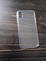 Чехол iPhone XR бампер Hoco силикон прозрачный