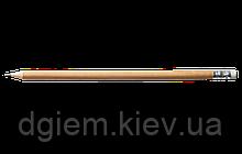 Карандаш графитовый HB с ластиком деревянный L2U Buromax