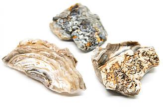 Халцедон натуральный камень на развес, Цена указана за 14 грамм, Цвет Бежевый