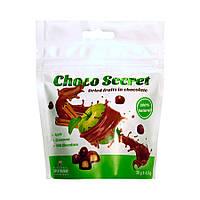 Конфеты из сухофруктов в шоколаде Choco Secret. Яблоко с корицей, 50 г, фото 1