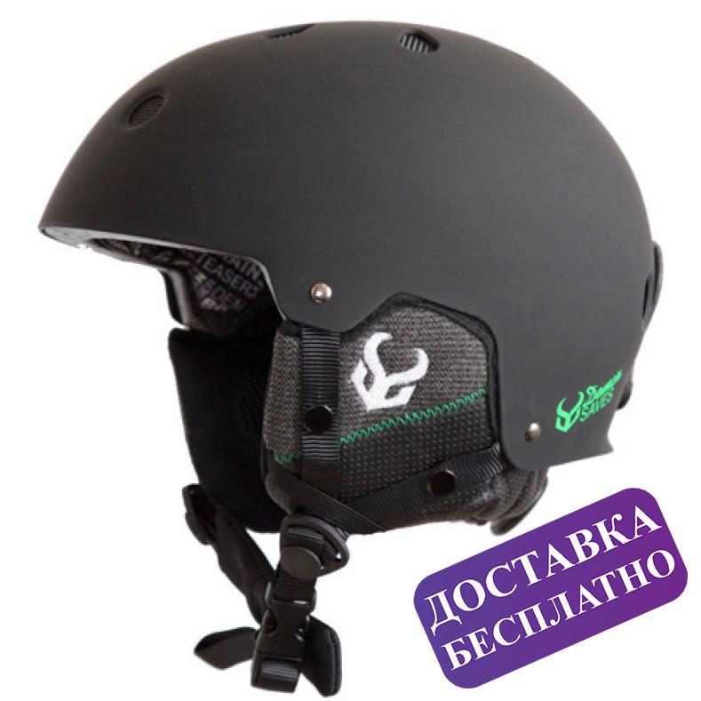 Шолом Demon Audio Faktor Snow Helmet (чорний)
