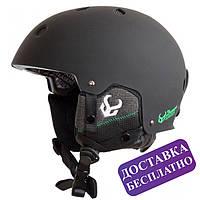 Шолом Demon Audio Faktor Snow Helmet (чорний), фото 1