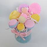 Букет из мыльных сладостей сладко - цветочная композиция из мыла ручной работы мыльный букет из мыла подарок, фото 7