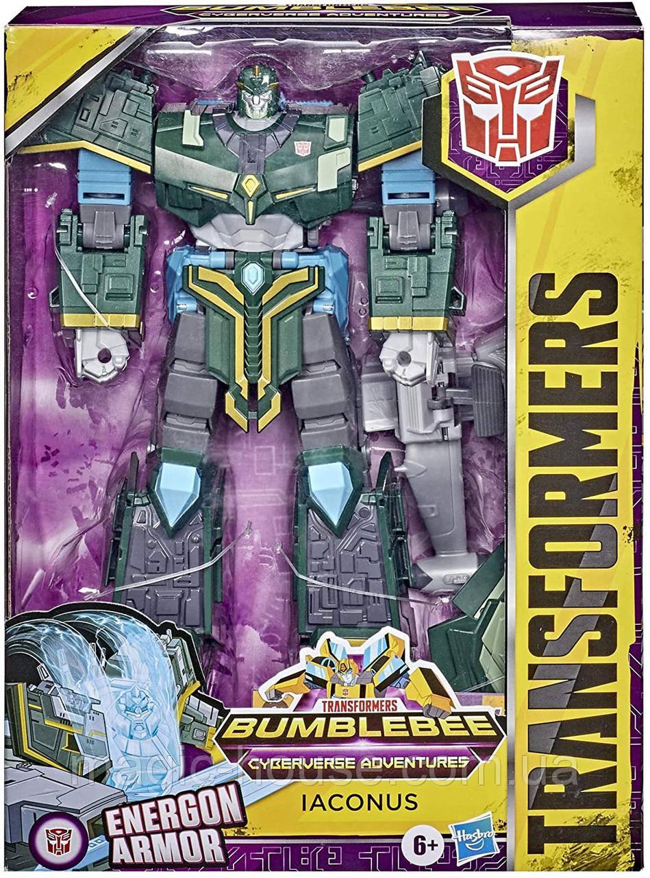 Transformers Иаконус Bumblebee Cyberverse Adventures Toys Ultimate Трансформер Iaconus Оригінал від Hasbrо