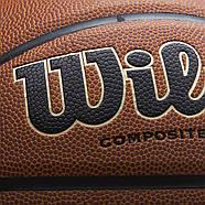 Wilson NCAA Final Four Edition Basketball Мяч баскетбольный  оригинал размер 7 композитная кожа, фото 5