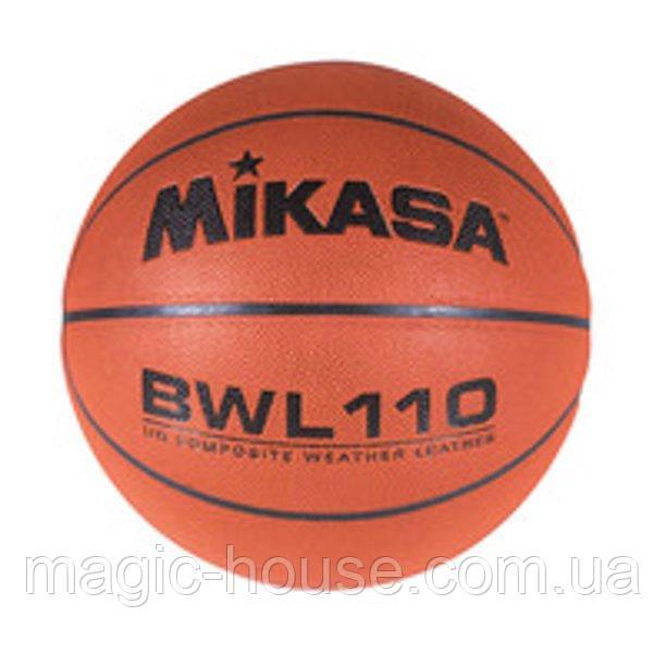 Мяч баскетбольный Mikasa BWL110 Competition Basketballоригинал размер 7 композитная кожа