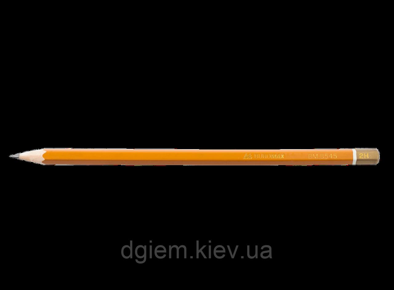 Олівець графітовий PROFESSIONAL 2H без гумки