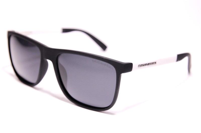 Мужские солнцезащитные очки Wayfarer Дольче Габбана P9433 C3 реплика Черные с поляризацией