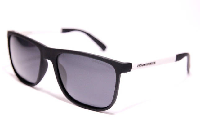 Мужские солнцезащитные очки Wayfarer Дольче Габбана P9433 C3 реплика Черные с поляризацией, фото 2
