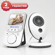 """Радионяня Видеоняня с цветным 2.4"""" дисплеем и встроенными колебельными JETIX VB605, фото 2"""