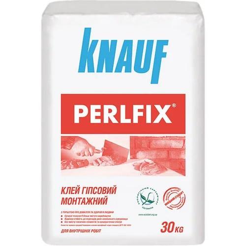 Клей для гіпсокартону KNAUF PERLFIX 30 кг. КНАУФ Перлфікс