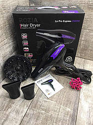 Профессиональный Фен для волос с диффузором, ионизацией Rozia HC-8508 2500W