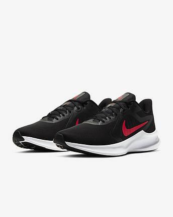 Кросівки чоловічі Nike Downshifter 10 CI9981-006 Чорний, фото 2