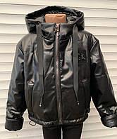 Курточка для девочек «София» чёрная