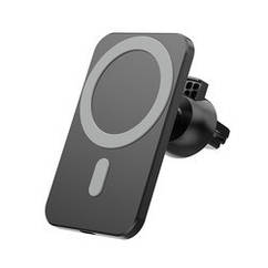 Автомобильное беспроводное зарядное устройство магнитный держатель MagSafe для iPhone 12   mini   pro   max