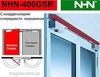 Доводчик c координатором для 2-стулкових протипожежних димозахисних NHN-400 GSR (Японія)