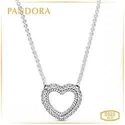 """Пандора Колье """"Змейка"""" с кулоном Pandora 399110C01-45"""