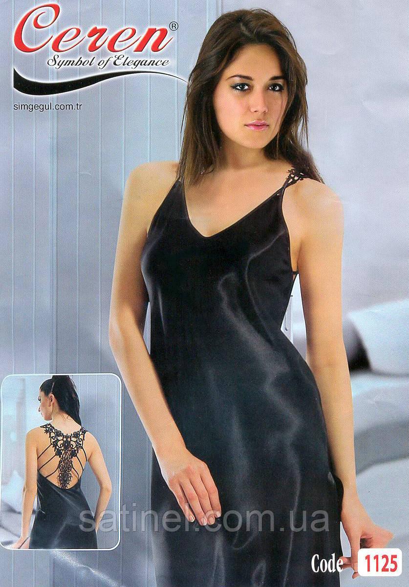 3c2bcccaeb978a2 Атласная ночная сорочка длинная Seren 1125, цена 300 грн., купить в ...