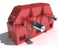Промышленные горизонтальные цилиндрические двуступенчатые редукторы типа 1Ц2У-315