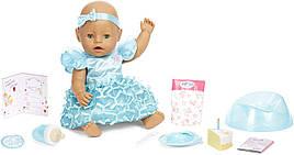 Кукла Беби Борн Baby Born девочка зеленоглазая с Днем Рождения Zapf 917448
