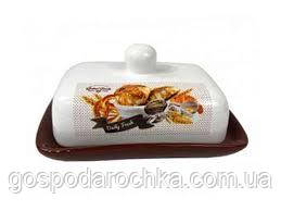Масленка керамическая Interos Хлеб ZFC-046-BZ