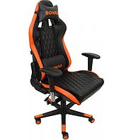 Крісло геймерське Bonro 1018 оранжеве, фото 1