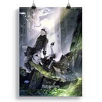 Плакат Ниер автомата | Nier автоматів 36