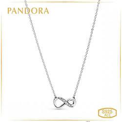 """Пандора Колье """"Сияющий символ бесконечности"""" Pandora 398821C01"""