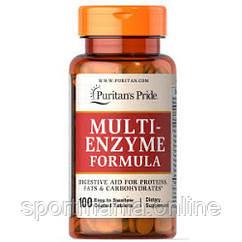 Multi Enzyme Formula - 100tabs