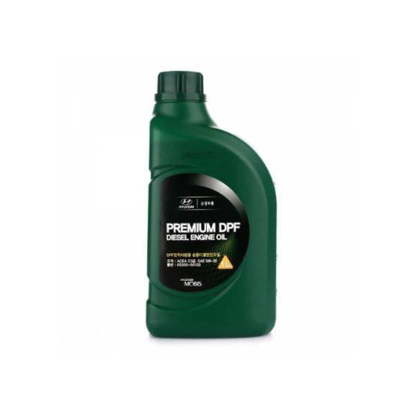 Моторное масло Mobis Premium DPF Diesel + 5W-30  1л  (0520000130)