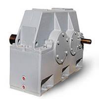 Промышленные горизонтальные цилиндрические двуступенчатые редукторы типа 1Ц2У-355