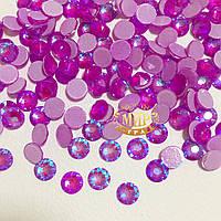Стразы Xirius Crystals, Neon Purple AB, ss20 (4,6-4,8 мм), 100шт