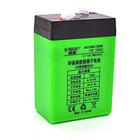Аккумуляторная батарея литиевая QSuo 6V 10A с элементами Li-ion 18650  (70X46X100) + зарядное устройство 8,4V