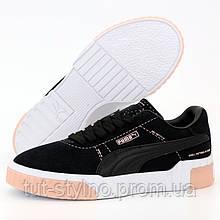 Женские кроссовки в стиле Puma Cali, черный, белый, розовый, Индонезия