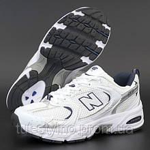 Женские кроссовки в стиле New Balance 530, белый, серый, синий, Вьетнам