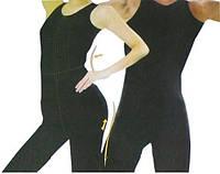 Корректирующий костюм для похудения (топ и бриджи) sport slimming bodysuit