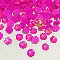 Стразы Xirius Crystals, Neon Rose AB, ss20 (4,6-4,8 мм), 100шт