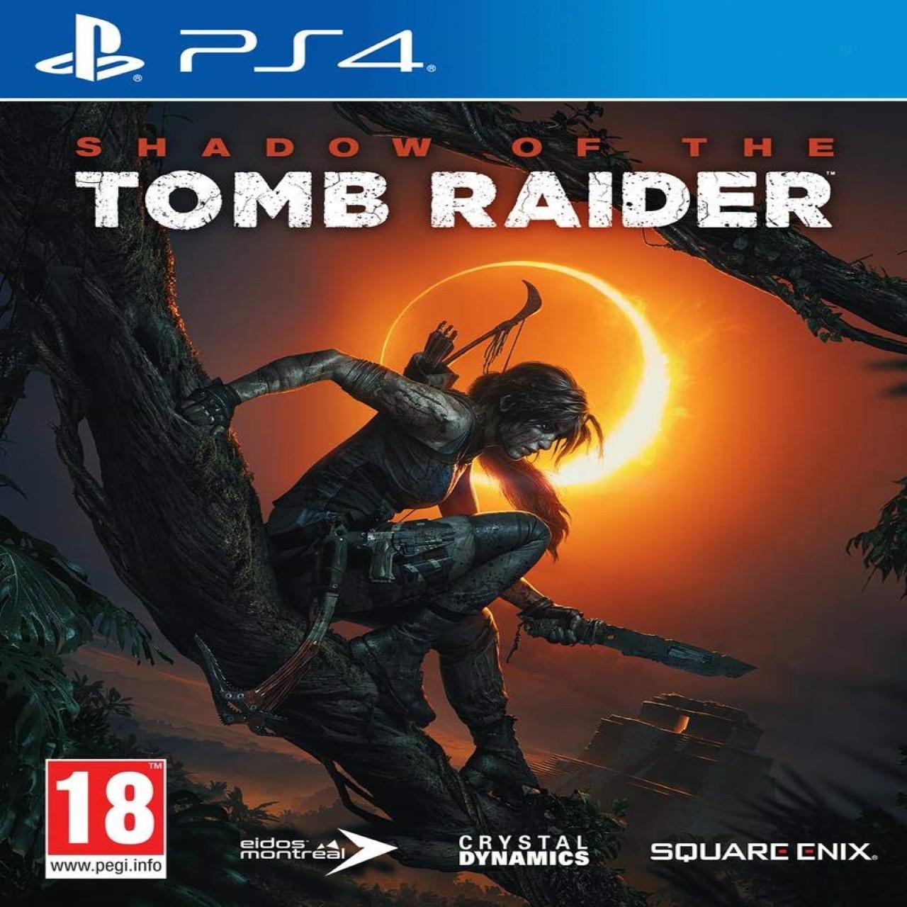Shadow of the Tomb Raider (російська версія) PS4