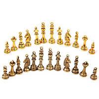 Набор из 48 металлических подвесок шармов шармиков, шахматы, бронза, 100700