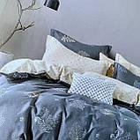 Постільна білизна Євро комплект з простирадлом на гумці Постільна білизна з фланелі євро розмір, фото 3