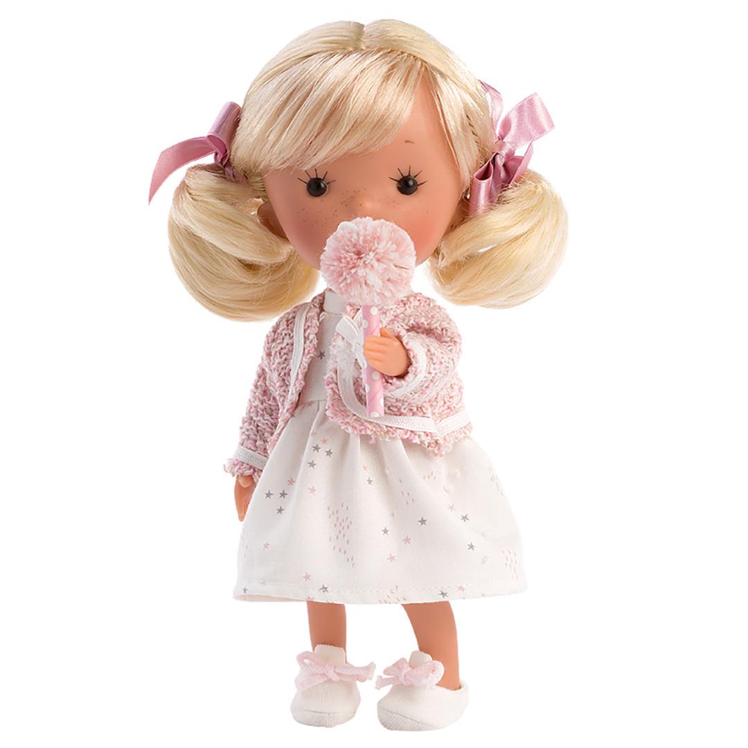 """Коллекционная интерактивная кукла LLORENS Мисс Минис """"Лили Квин"""""""