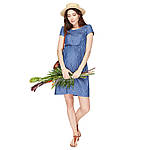 Плаття для вагітних і годуючих Celena сердечка ЮЛА МАМА (синій, розмір S)