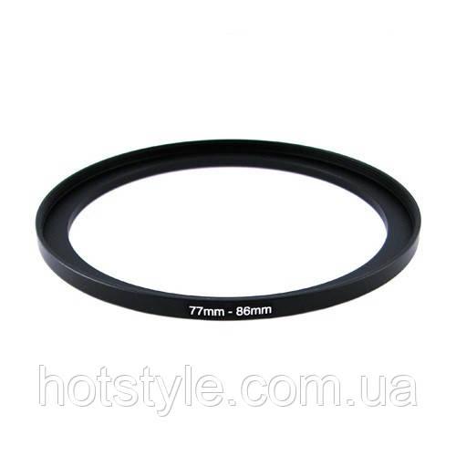 Повышающее степ кольцо 77-86мм для Canon, Nikon, 103949