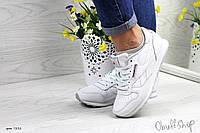 Кросівки Reebok Classic жіночі білі туфлі в стилі жіночі кросівки Рібок