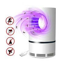 Лампа ловушка для уничтожения комаров насекомых USB, JUN BO JB-666, 100670