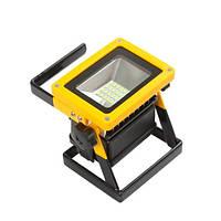 Прожектор светодиодный аккумуляторный портативный 100Вт BL-204, 103467