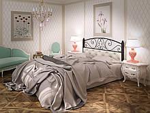 Кровать Tenero Астра 1400х1900 мм Черный + Белый (100000153)